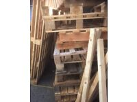 Wooden Pallets - Selection of sizes for FREE
