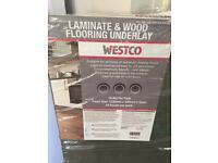 Westco laminate and wood flooring underlay