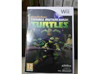 Wii u games Ninja Turtles