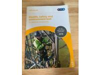 Health, safety & Environment test revision book for CSCS card