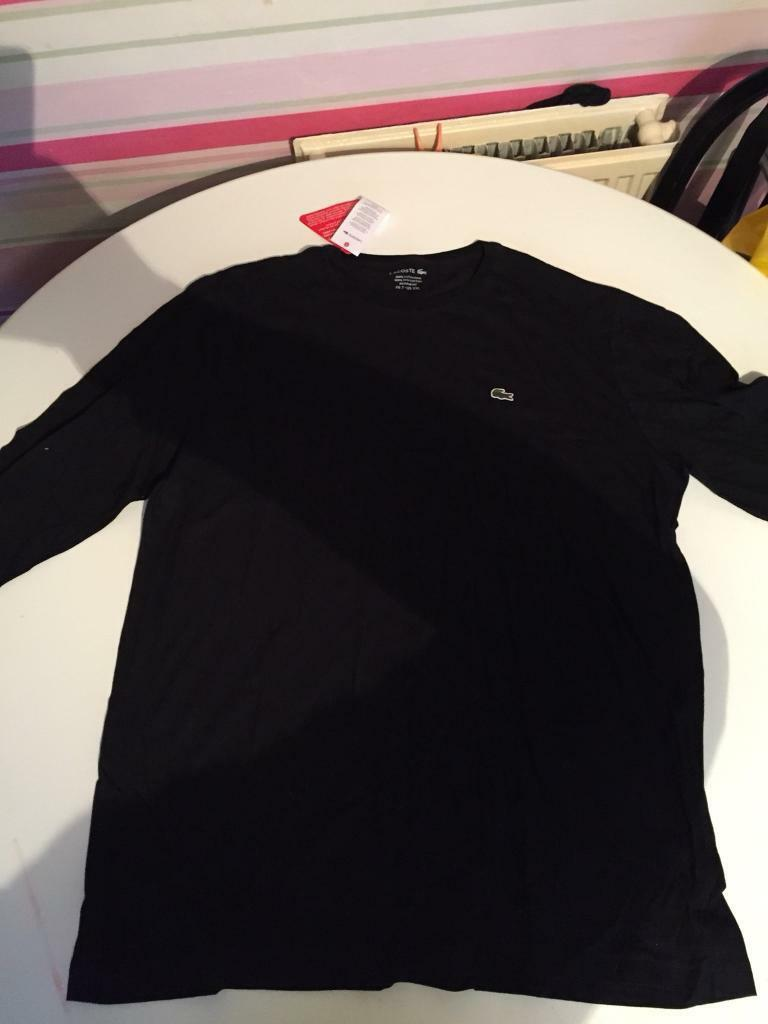 8415939ee Lacoste Long Sleeve T Shirt Black – EDGE Engineering and Consulting ...