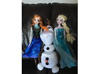 Frozen toys and dress bundle