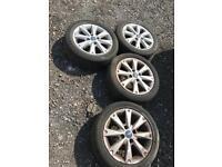 MK 7 Ford Fiesta Zetec 2009 Alloys Rims Wheels 195/50 R15 195 50 R15