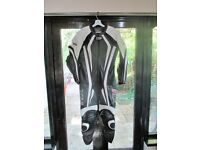 One piece motorcycle leathers - brand new