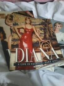 Diana a life in fashion four part daily mail addition