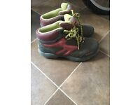 Girls walking boots size 2