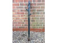 Victorian Cast Iron Gate Post **Reduced**
