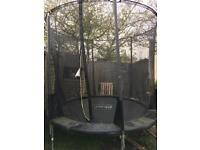 Plum 8ft trampoline with enclosure