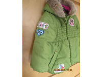 MARKS AND SPENCER GIRLS COAT 12-18 MONTHS