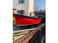 Cheverton champ 16 fishing boat/ workboat