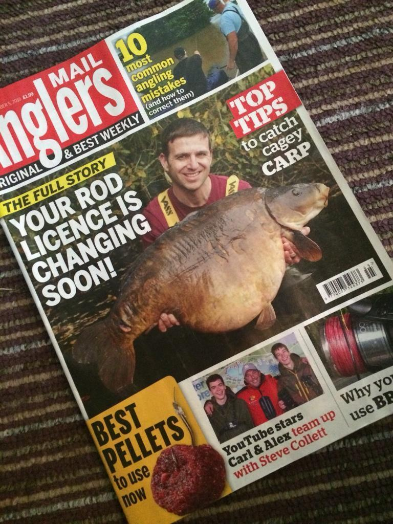 Anglers mail collection