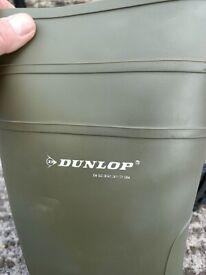Dunlop 142VP Green Proto Master Wellington Boots Size 12