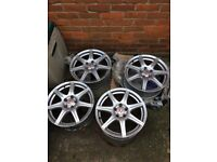 Honda Civic fn2 alloy wheels