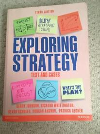 Exploring Strategy Texts and Cases