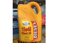 Turbo Diesel engine oil