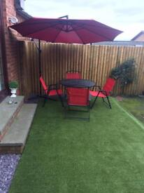 Artificial grass 35mm pile 4.1 x2 and 4.1 x 1.1