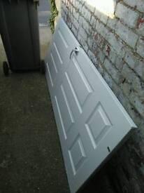 Internal solid door