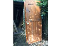 Solid Pine 4 Panel Doors