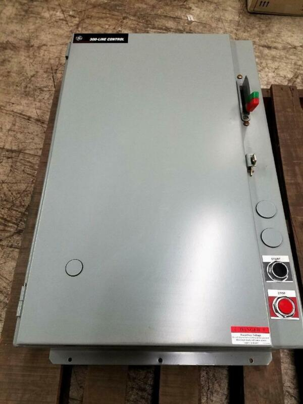GE 300 Line Control Motor Starter Panel