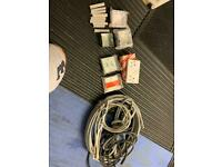 Electric cable / switches and boxes