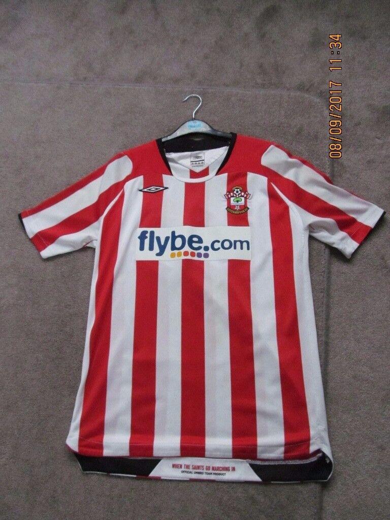 Southampton FC Flybe 2008/10