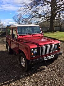 LAND ROVER DEFENDER 90 300TDI COUNTY STATION WAGON 7 SEATS