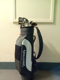 Golf bag and full set of clubs very good condition