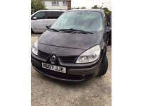 2007 RENAULT GRAND SCENIC 1.5 DCI DIESEL MANUAL 7 SEATER FAMILY CAR GOOD DRIVE NOT ZAFIRA GALAXY