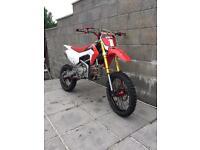 Yx160 crf110 pit bike