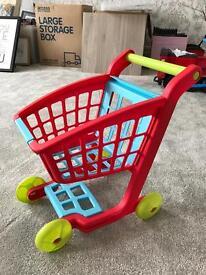Plastic shopping Trolley