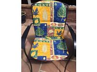High Back Chair Cushions - Set of 4