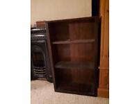 Wooden free standing shelves