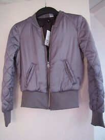 H&M Ladies Bomber Jacket size 6