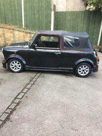 Mini thirty h reg classic convertible very good condition ideal summer car mot August