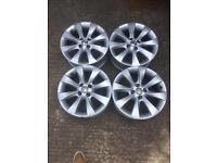 Vauxhall Corsa or Combo 16 Inch 4x100 alloy wheels