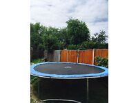 14ft trampoline for sale, almost new