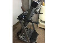 Carl Lewis Treadmill/Running Machine MOT 25 (Motorised Foldable)