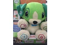 Brand new in box leap frog talking teddy bear PERSONALISE YOUR CHILDS LEARNING