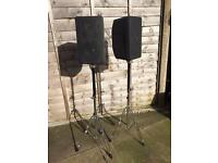 TOA F-250G commercial Monitor Loudspeakers.