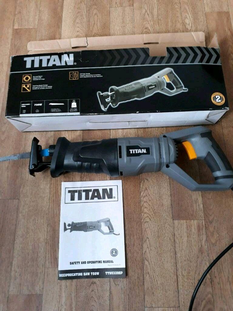 Titan reciprocating saw