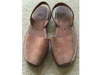 Lovely genuine Mallorcan ladies sandals