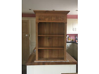 Pine Spice Rack with shelves suitable for wall mounting