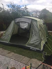 Outwell XL 6 berth with carpet and groundsheet