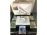 Xbox one s 500gb boxed with games