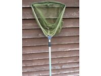 small fishing net with pole