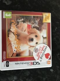 Nintendogs and Cats game