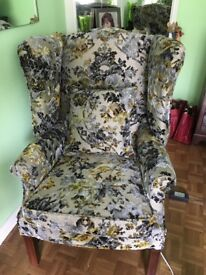 Beautiful designers guild upholstered armchair