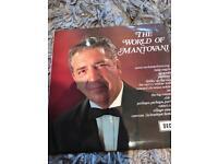 The world of Mantovani LP vinyl