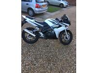 Cbr 125 rw-7 with only 419 miles on the clock