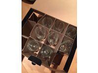 new champagne glass x8